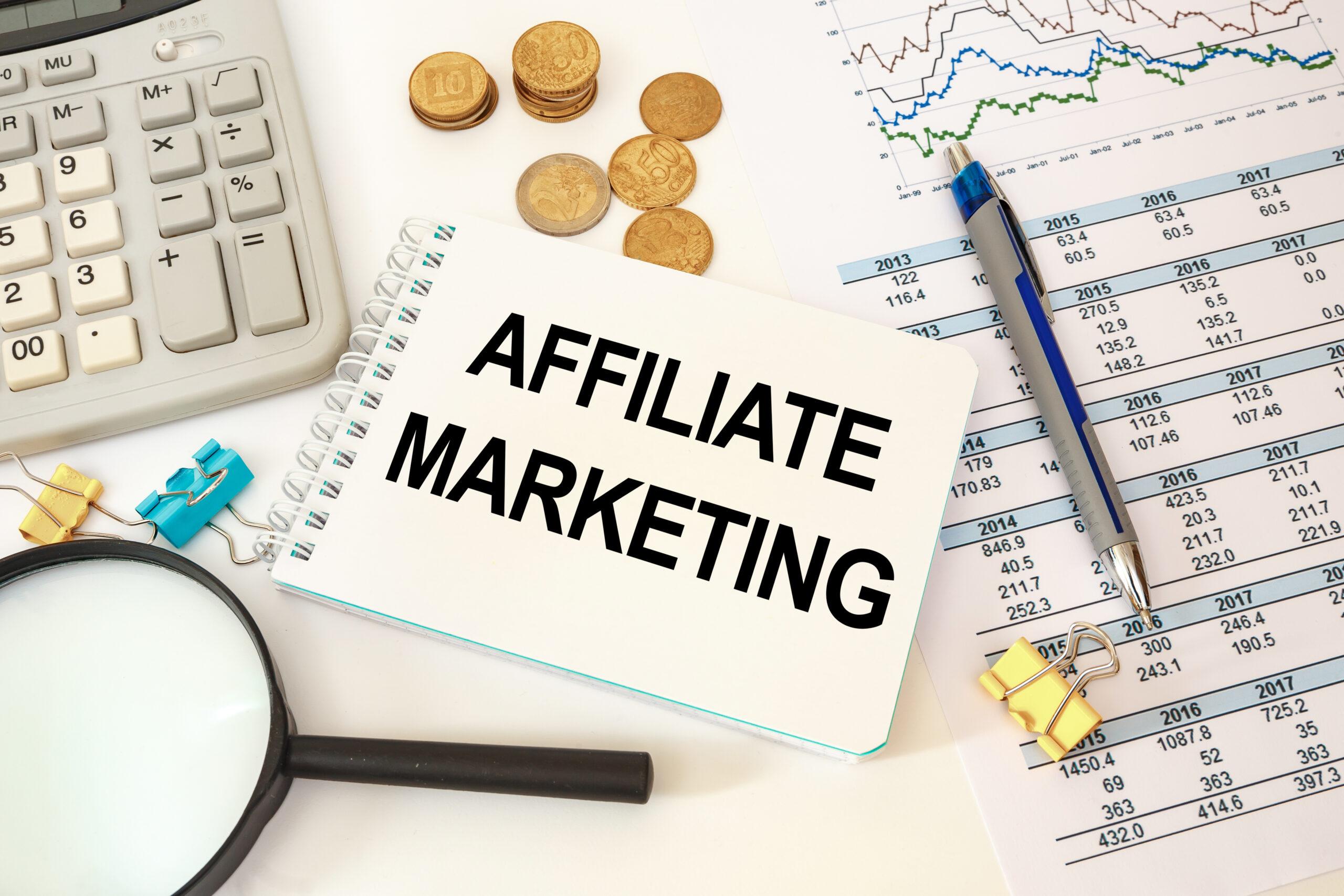 Start affiliate marketing